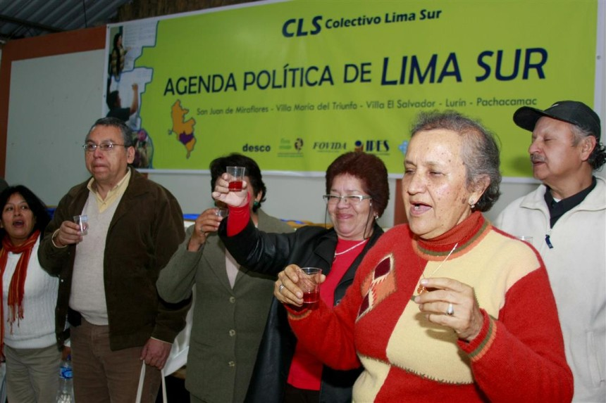 Presupuesto Participativo con enfoque de género en Lima Sur (Lima, Perú).Version II