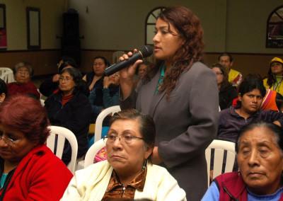 Presupuesto Participativo con enfoque de género en Lima Sur. Version I